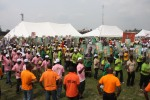 Cross Section of the crowd during the  Eket PDP Senatorial Rally