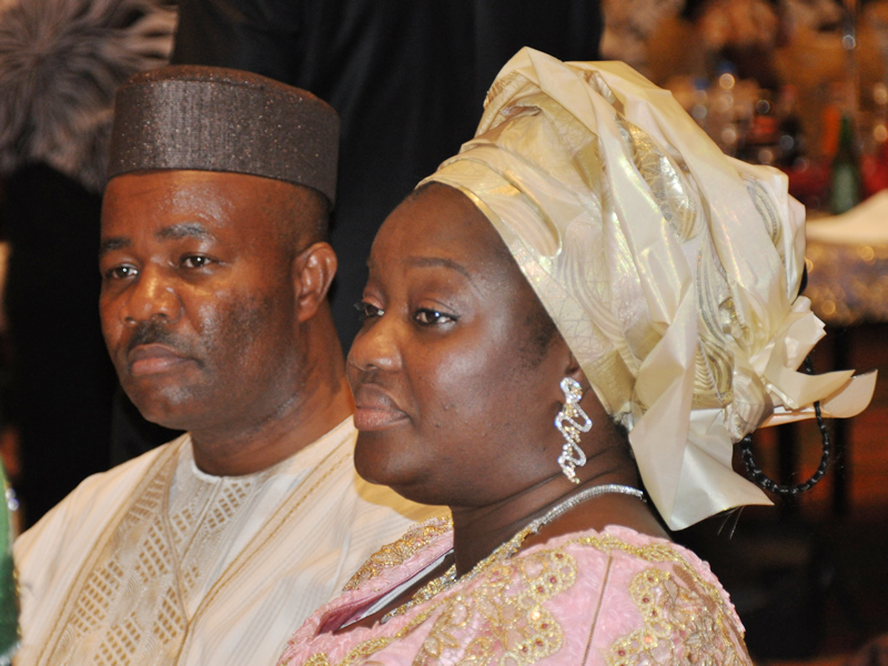 """Akpabio's administration has been good to public servants"" – Gov's wife"