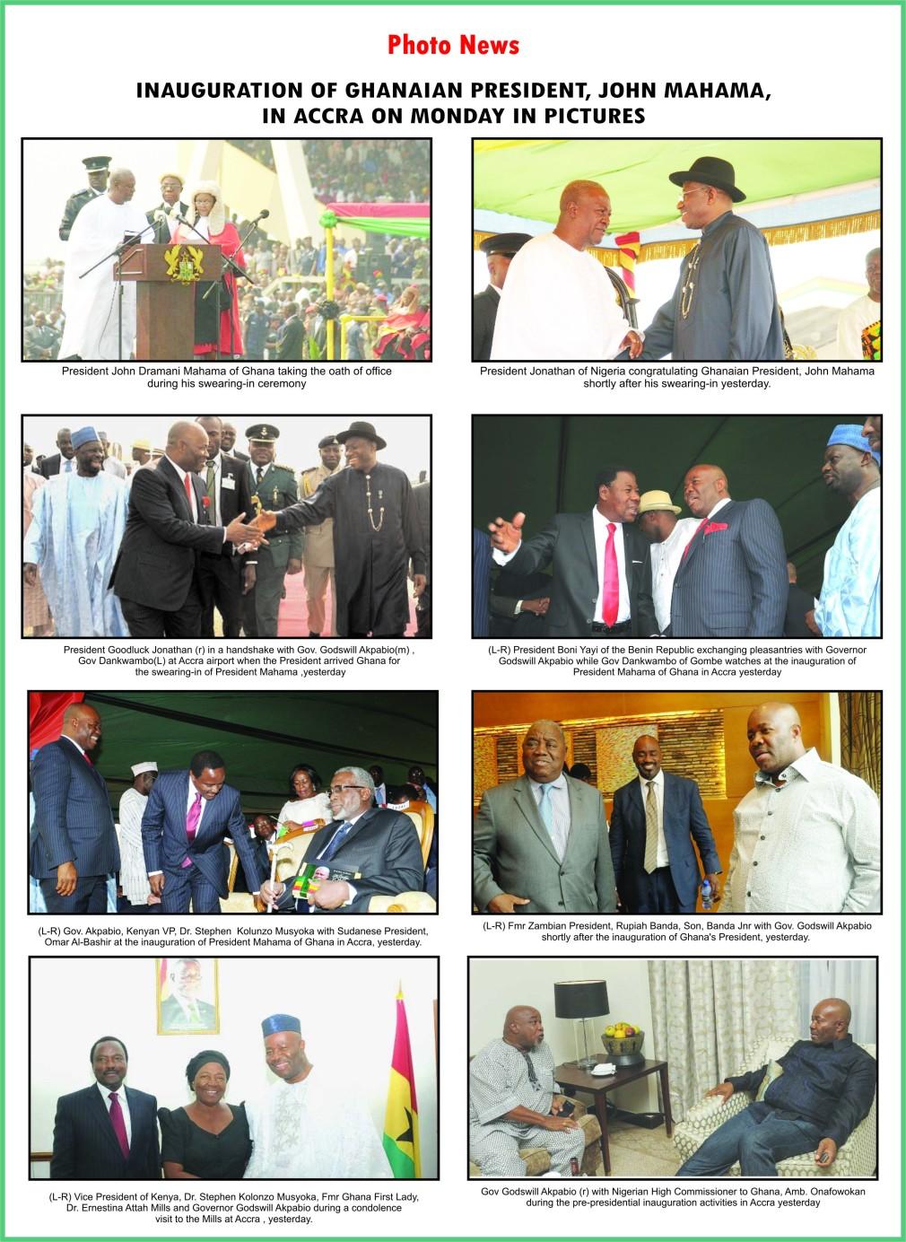Inauguration of Ghana's President Maham